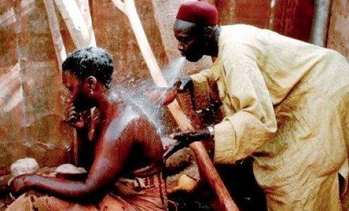 guérisseur africain